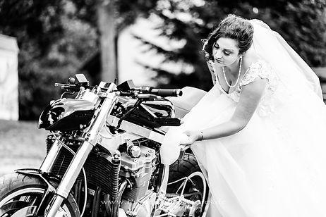 Hochzeitsfotograf Harz Bikerhochzeit Mot