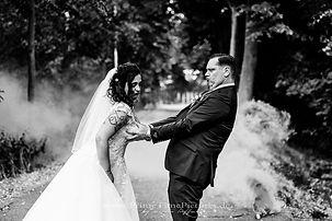 Brautpaarshooting witzig