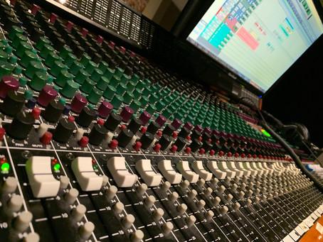 Mixing has begun!