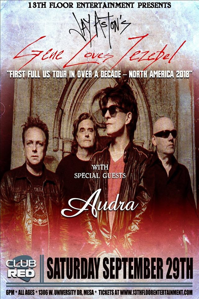 Audra Gene Loves Jezebel Post Punk Goth Rock Mesa Arizona