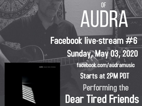 Live-stream #6: Dear Tired Friends