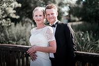 Hochzeitsfotograf Göttingen Brautpaar Brücke