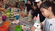 CLIMBING + POTTERY PAINTING WORKSHOP