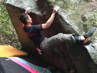 Outodoor Bouldering with members- Ma On Shan