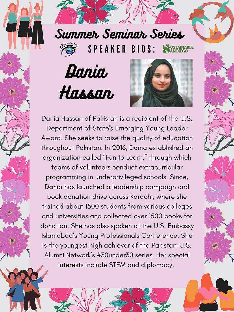 Dania Hassan - Fun to Learn