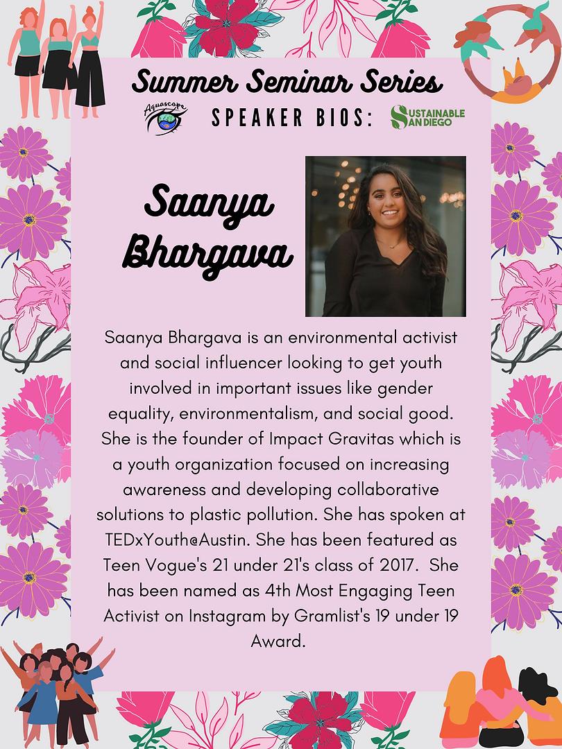 Saanya Bhargava - impact.gravitas