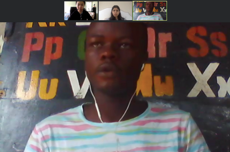 Speaking with Reuben from Rehab Africa about our ebook