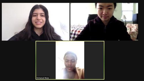 Speaking with Mutai