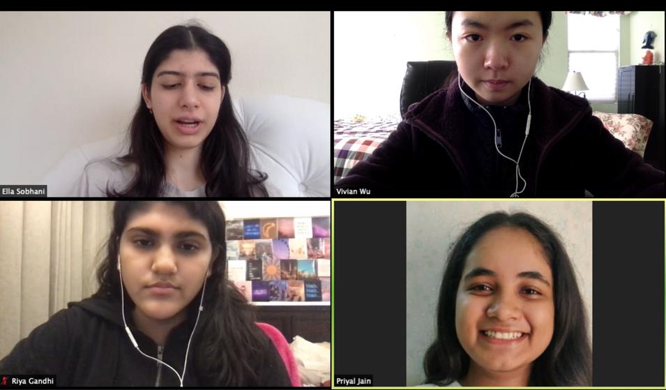 Speaking with Priyal and Riya!