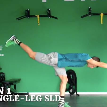 Einbeiniges Training – Teil 1 – Hüftdominante Übungen