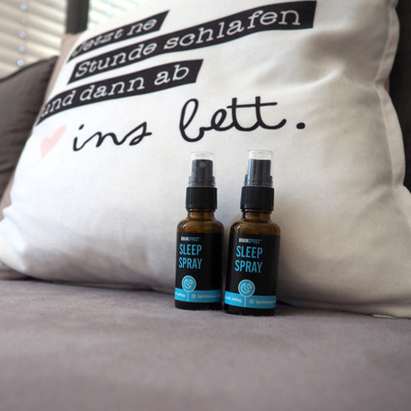 Good night, SLEEP tight – Das SLEEP SPRAY von BRAINEFFECT im Test