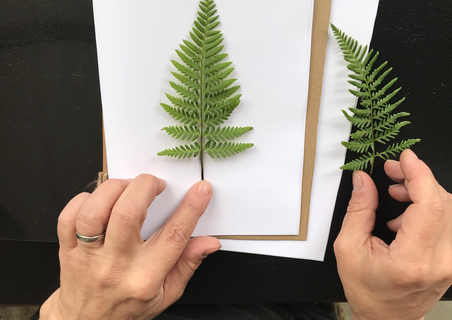 crafting nature-inspired journals from recycled/recyclable material