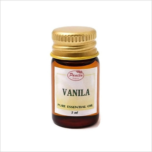 Vanilla Essential Oil 5 ml 100% Pure and Natural Free Shipping