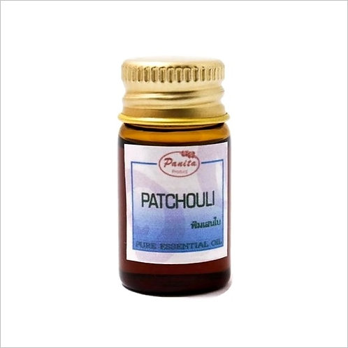 Patchouli Essential Oil 5 ml 100% Pure and Natural Free Shipping