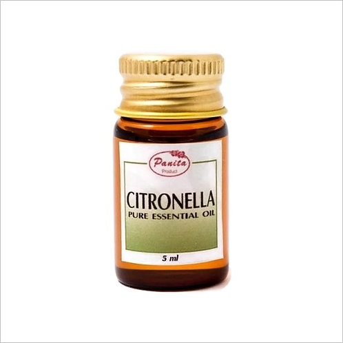 Citronella Essential Oil 5 ml 100% Pure and Natural Free Shipping