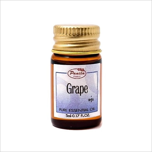 Grape Essential Oil 5 ml 100% Pure and Natural Free Shipping