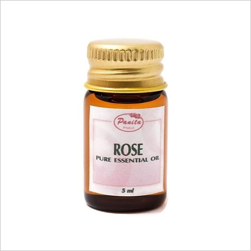Rose Essential Oil 5 ml 100% Pure and Natural Free Shipping