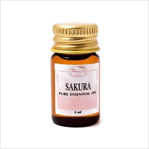 Sakura Essential Oil 5 ml 100% Pure and Natural Free Shipping
