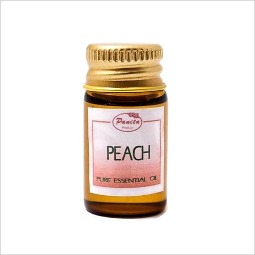 Peach Essential Oil 5 ml 100% Pure and Natural Free Shipping
