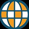 A globe network icon