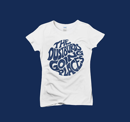 "T-Shirt Femme ""The Dustburds going places"""