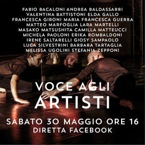 COREOGRAFI E PERFORMER MARCHIGIANI IN COLLEGAMENTO DALL'ITALIA E DALL'ESTERO
