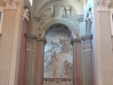 The festival locations: St. Annunziata's Church