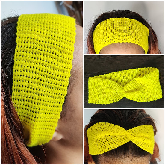 Twisted Crochet Hairbands