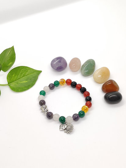Growth, Vitality & calming Worries Bracelet