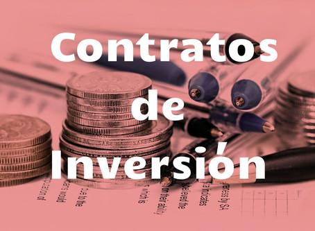 Monitoreo de los Contratos de Inversión y Aplicación de sanciones previstas en la normativa.
