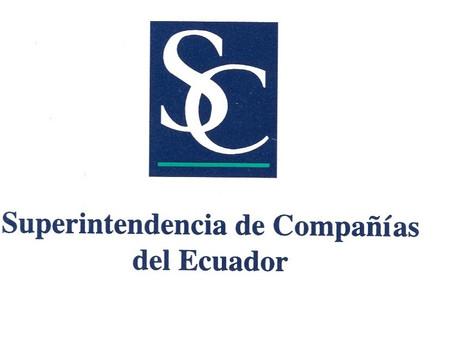 Pago de la contribución a la Superintendencia de Compañías, Valores y Seguros