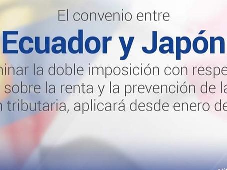 Convenio entre la República del Ecuador y Japón para Eliminar la Doble Imposición