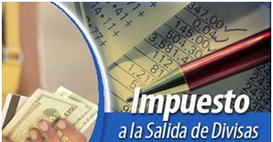 Transacciones Exentas Sujetas al pago del Impuesto a la Salida de Divisas.