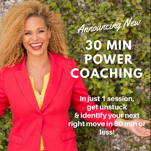 30 Minute POWER Coaching Session