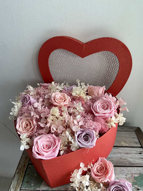 Everlasting Love - Preserved Flowers