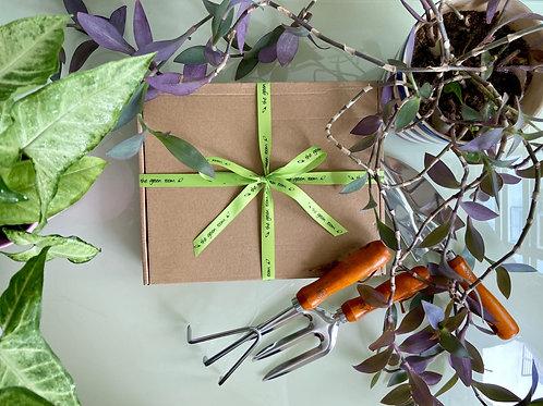 Gardening Tool Gift Set 3 pc - Rustic