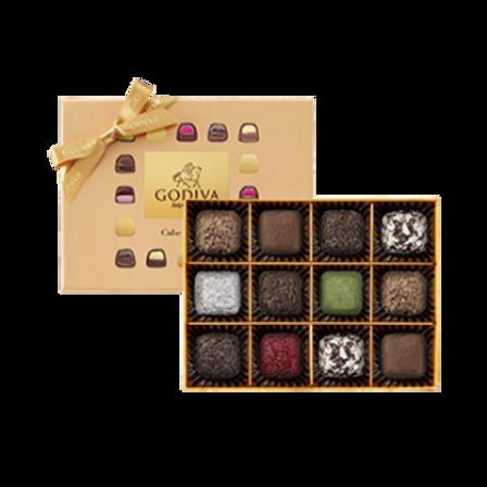 Godiva Cube Truffles Chocolate Gift Box