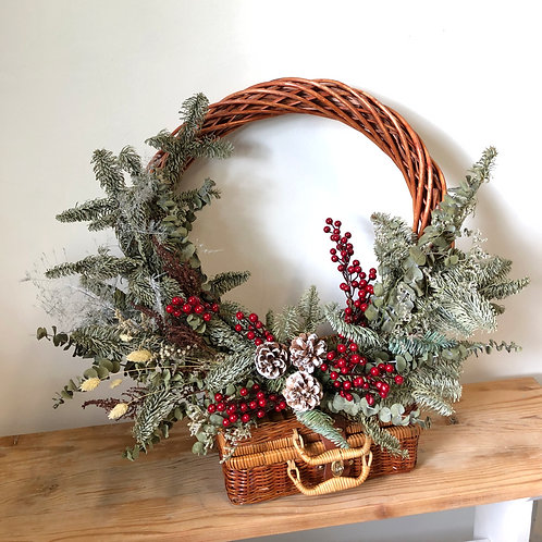 Door Wreath - Gloria (Dried)