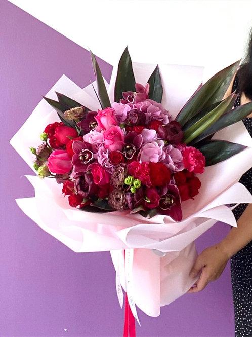 Hydrangea - Hot Pink Luxe