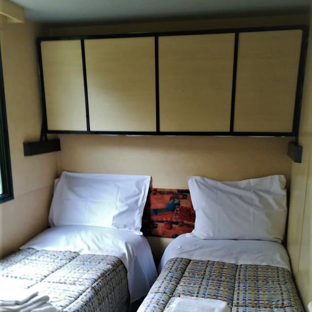 stanza doppi letti