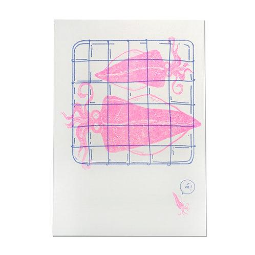 KM Squid Print Kawako