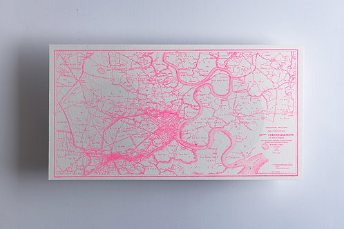 SGB Saigon Pink Map