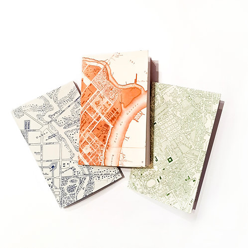 Saigon Map Pocket Notes - Set of 3