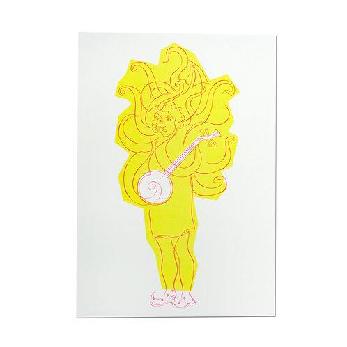 KM Squid Print Tho