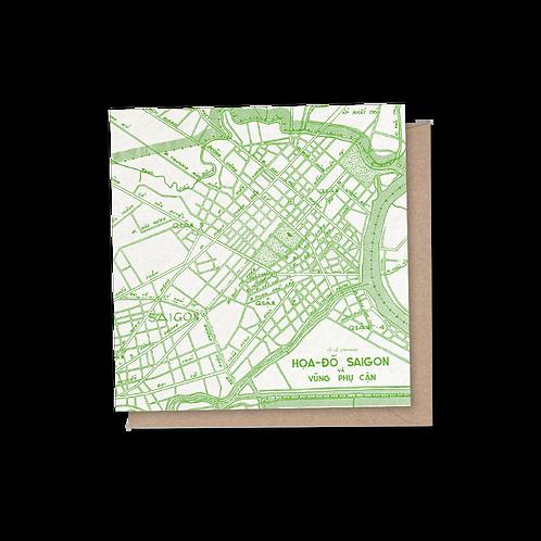 Saigon Card - Green