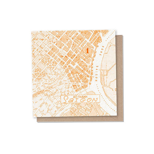 Saigon Card - Orange