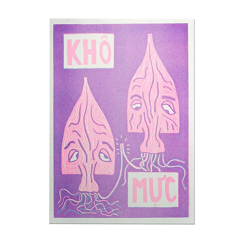 KM Squid Print Jack Clayton