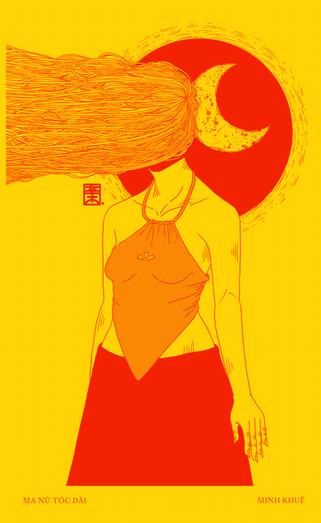 Ma Nữ Tóc Dài (lit. Long-Haired Lady)