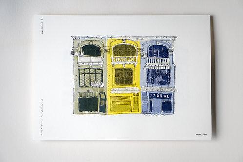 SGB Print 03 Houses of Phan Chu Trinh
