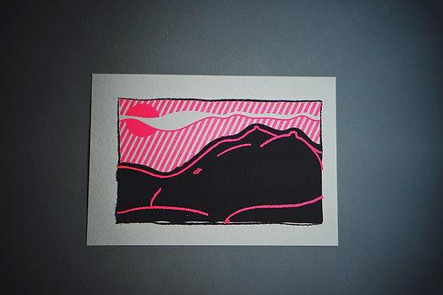 KM Print Bodyscape Sunset